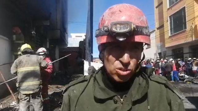 Bomberos confirman destrucción de documentos del Serecí