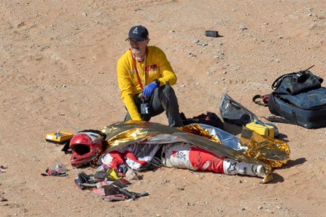 "El portugués Paulo Gonçalves fallece durante la séptima etapa del ""rally"" Dakar"