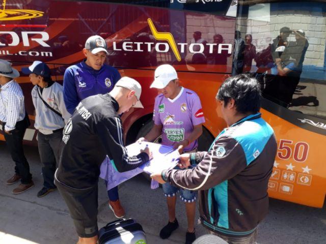 Real Potosí parte rumbo a La Paz
