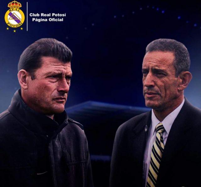 Real Potosí anuncia la contratación de los técnicos Aldirico y Musuruana