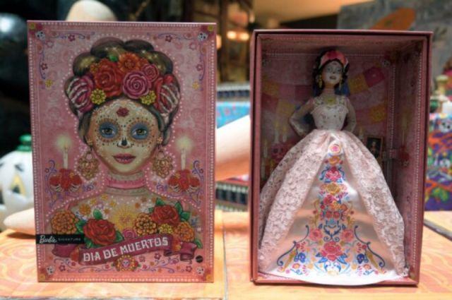 Hay una nueva Barbie en alusión al Día de Muertos