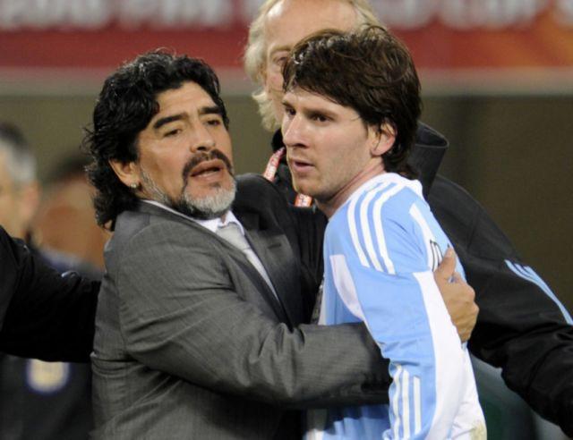 Messi rinde su tributo a Maradona en una tarde plácida del Barcelona