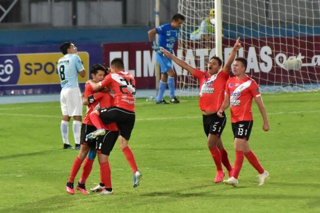 Nacional empata de visitante y se aferra a la Sudamericana