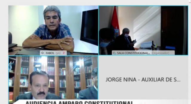 Sala Constitucional dicta medida cautelar y ordena a Fabol inhibirse de obstruir el inicio de la Liga