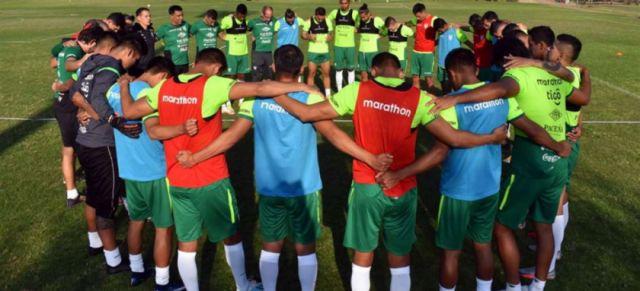 Chile y Bolivia juegan hoy un partido amistoso