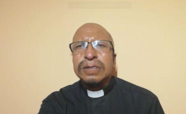 El padre Miguel Albino reflexiona sobre las necesidades que son asistidas