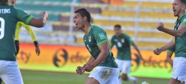 Bolivia consigue su primera victoria en las eliminatorias