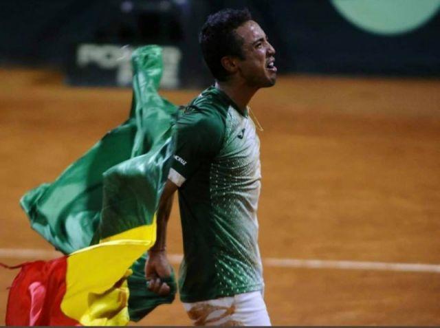 Hugo Dellien pierde partido con Djokovic pero triunfa como deportista