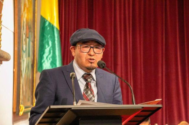 Benjamín Condori es el director titular de la Casa de Moneda
