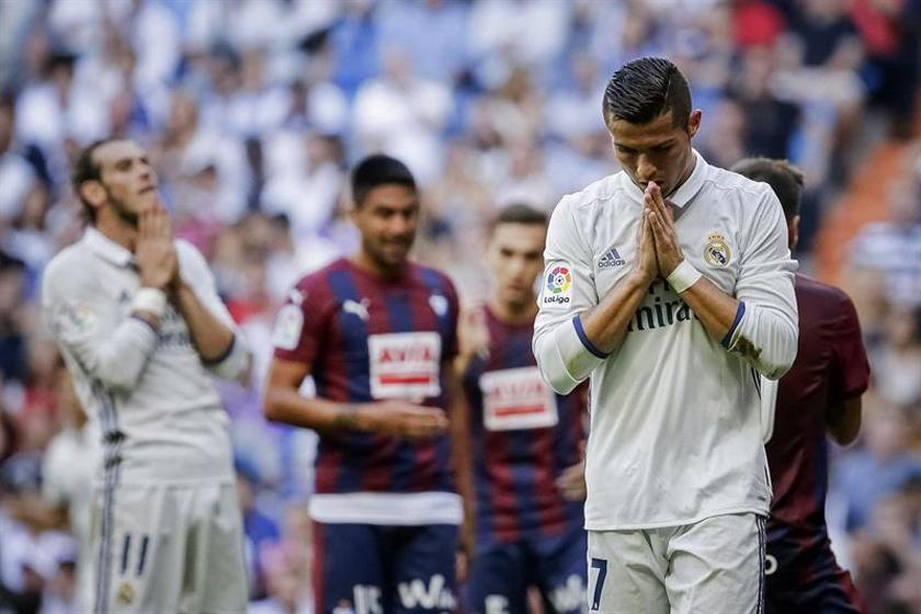 Eibar empata a Real Madrid
