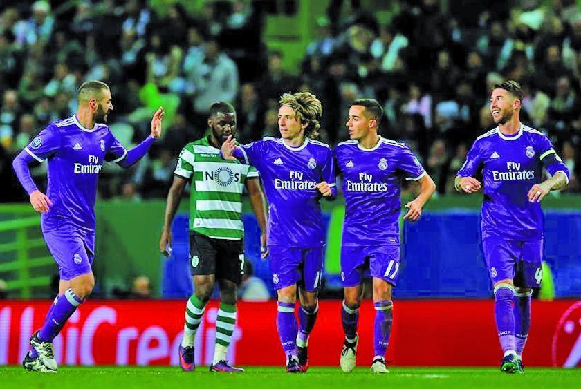 Real Madrid vencer a Sporting