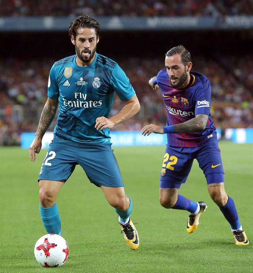 Real Madrid y Barcelona se juegan la Supercopa