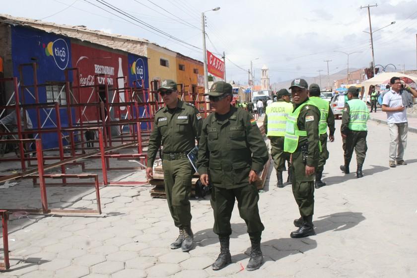 Policía desplegará 4.500 efectivos en toda la ruta