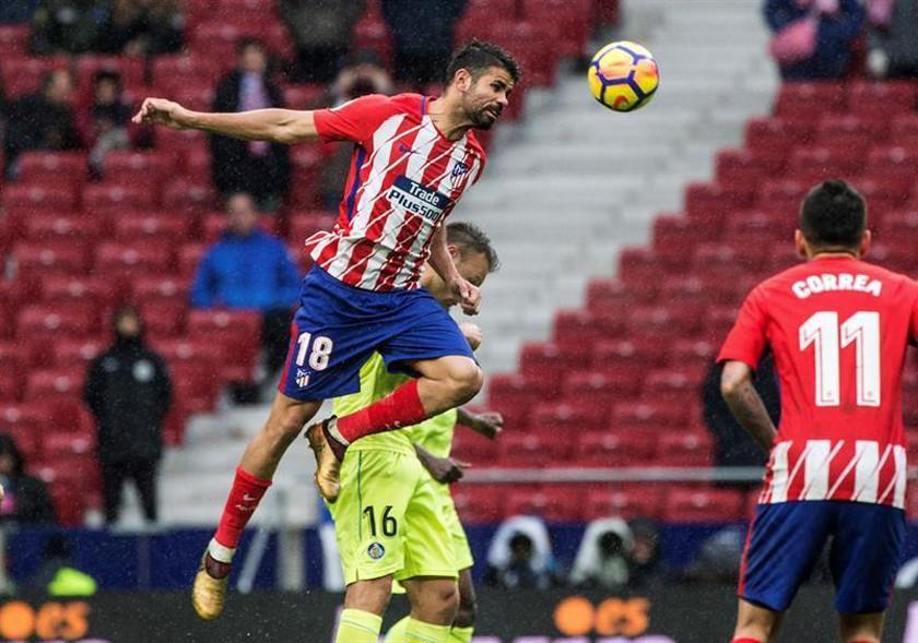 Atlético de Madrid vence 2-0 a Getafe