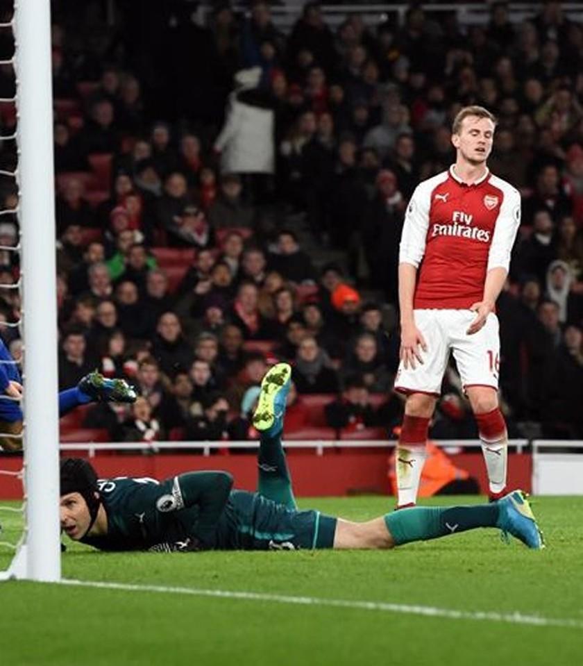 Arsenal pierde ante rival de segunda división