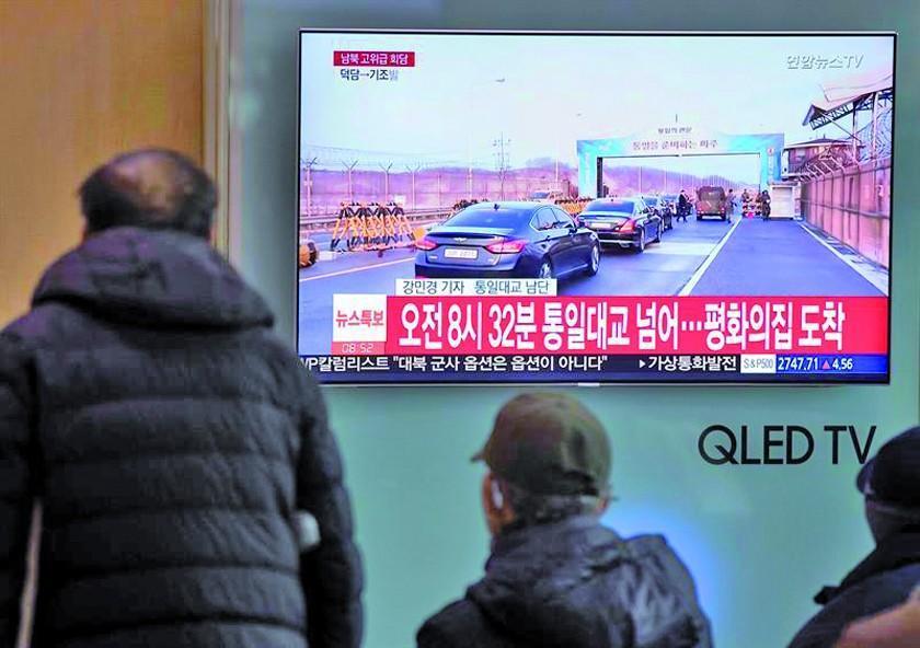 Delegaciones de Corea del Norte y Corea del Sur se reúnen hoy