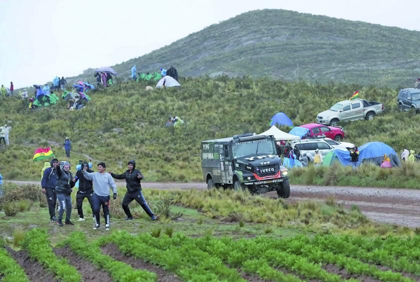 Etienne Lavigne quiere un Dakar que salga desde Santiago