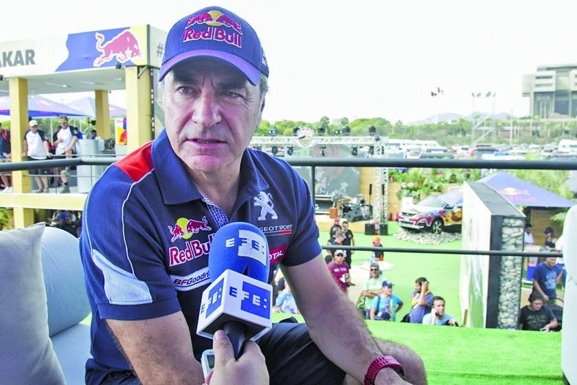 """Sainz: """"es la prueba más dura en Sudamérica"""""""