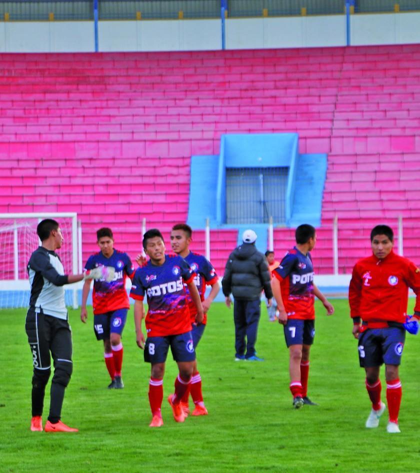 Potosinos buscarán subir al tercer lugar de la Copa Bolivia