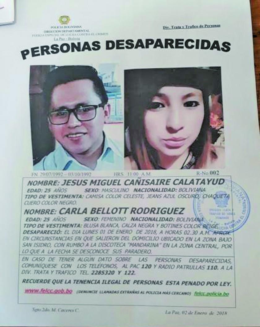 Envían a prisión al cómplice del caso de la pareja desaparecida