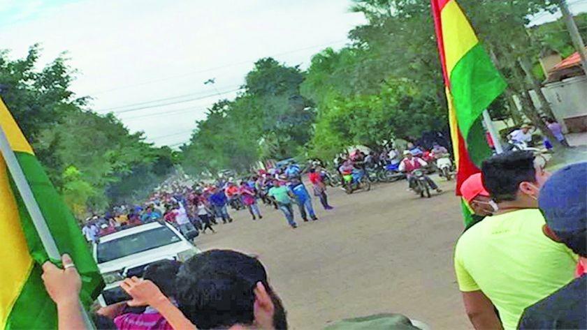 Paro en Beni se cumple en medio de enfrentamientos