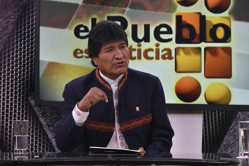 Evo Morales pide al Legislativo abrogar el nuevo Código Penal