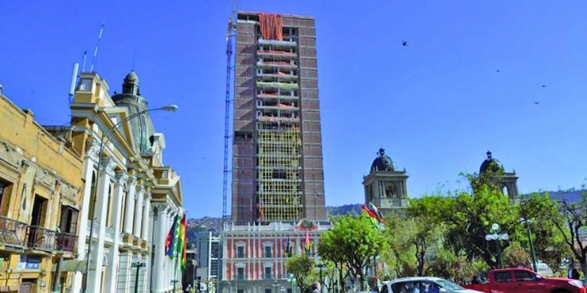Gobierno anuncia el estreno del nuevo palacio en abril