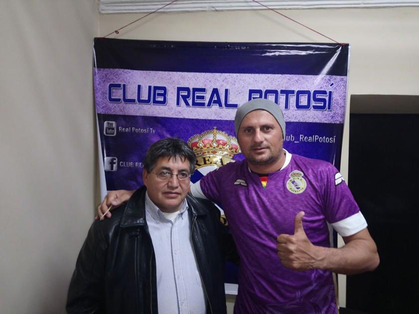 Real Potosí refuerza su portería con Marcelo Robledo