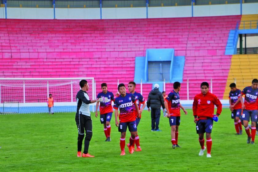 Potosí empieza a preparar su último duelo de la Copa Bolivia
