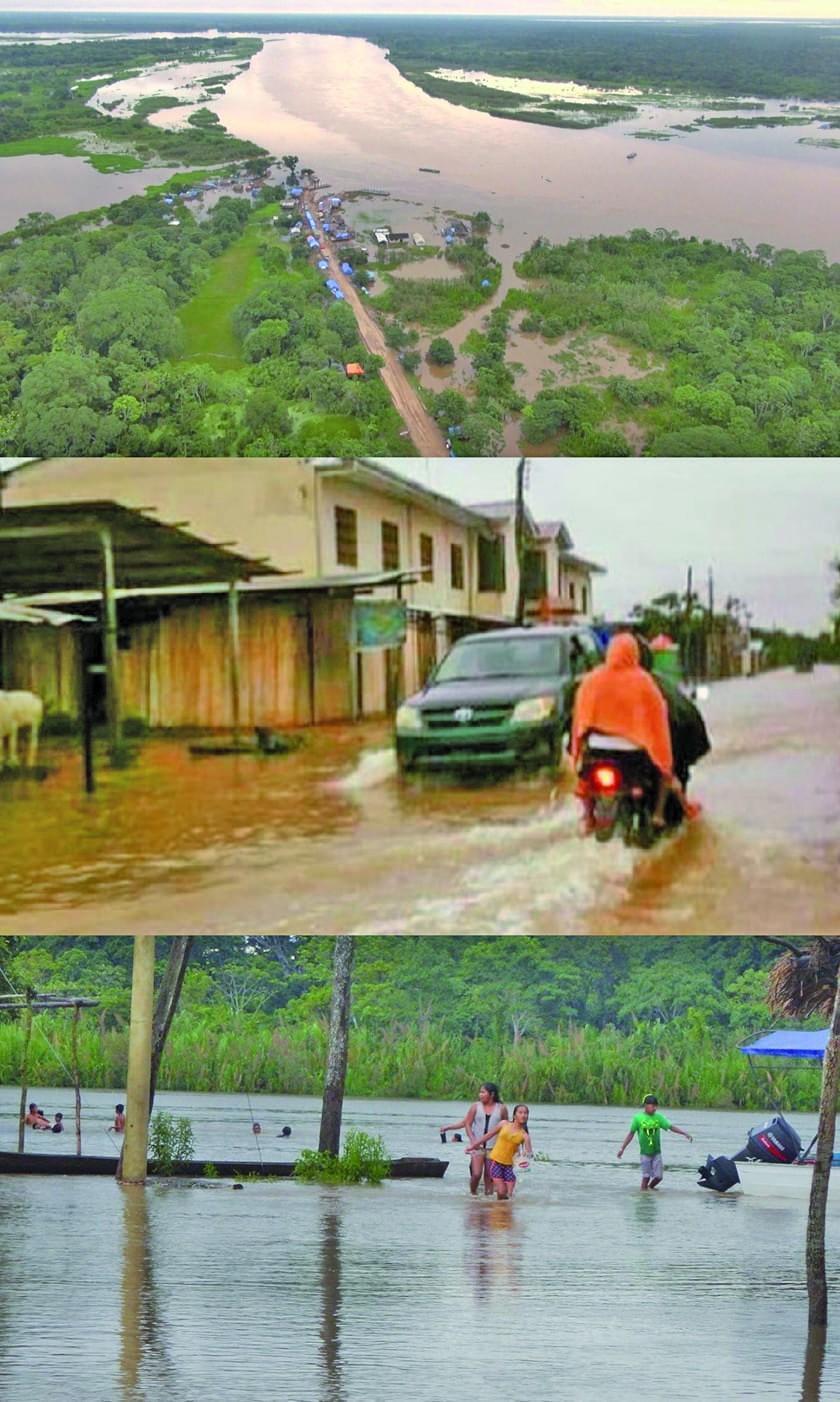 Se mantiene la alerta naranja por precipitaciones en todo el país
