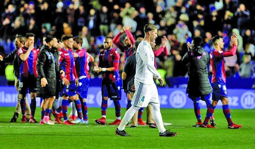 Real Madrid empata ante Levante