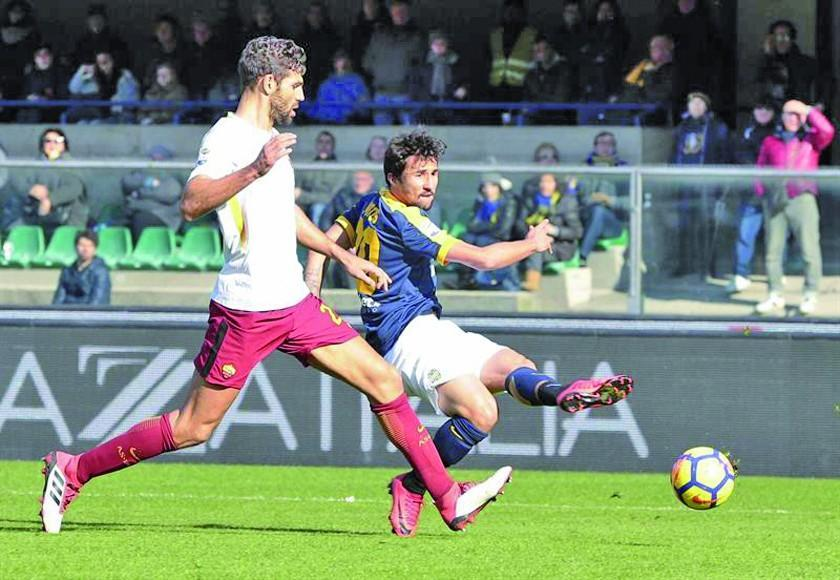Roma logra en Verona su primer triunfo de 2018 en la Serie A italiana