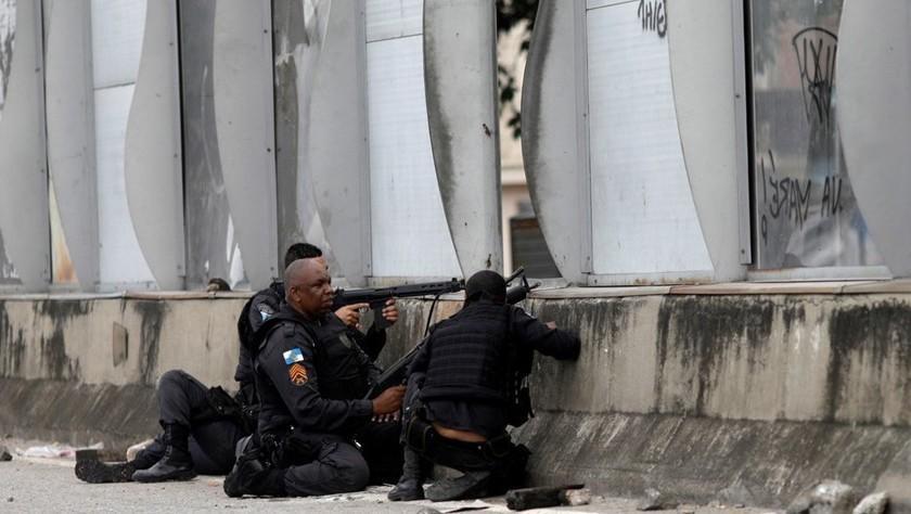 Megaoperativo con apoyo de 3.000 militares en Río deja 23 detenidos