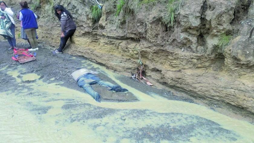 Hallan el cuerpo de un hombre sin vida en río