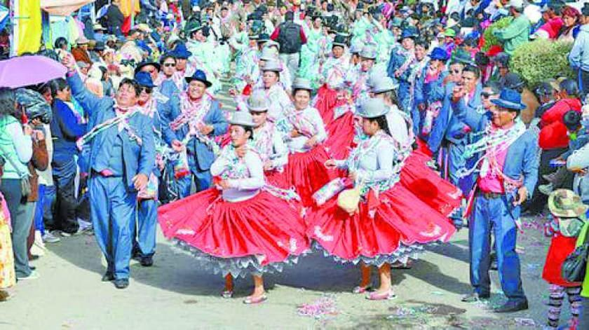 Comparsas de Oruro no suspenderán actividades del cierre del carnaval