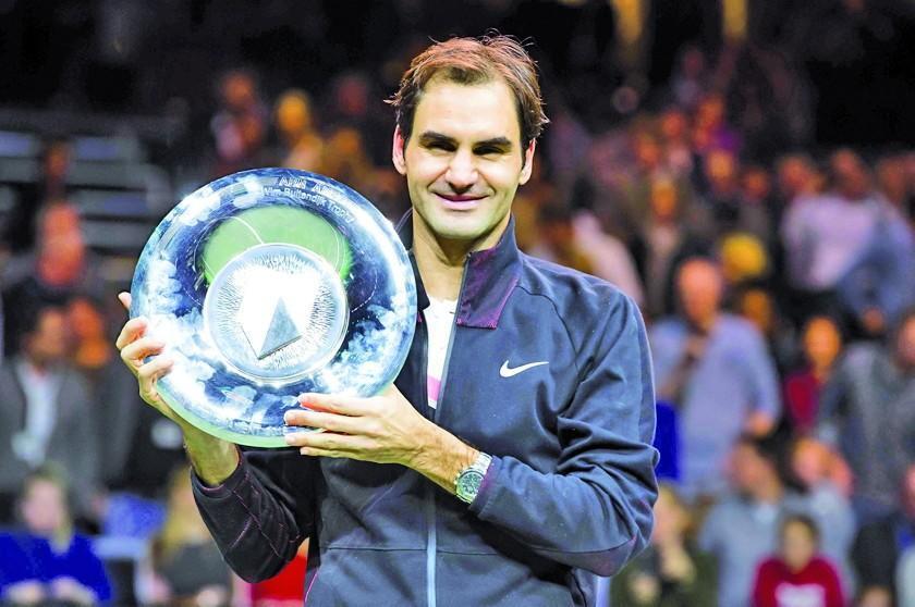 Federer gana Rotterdam por tercera vez