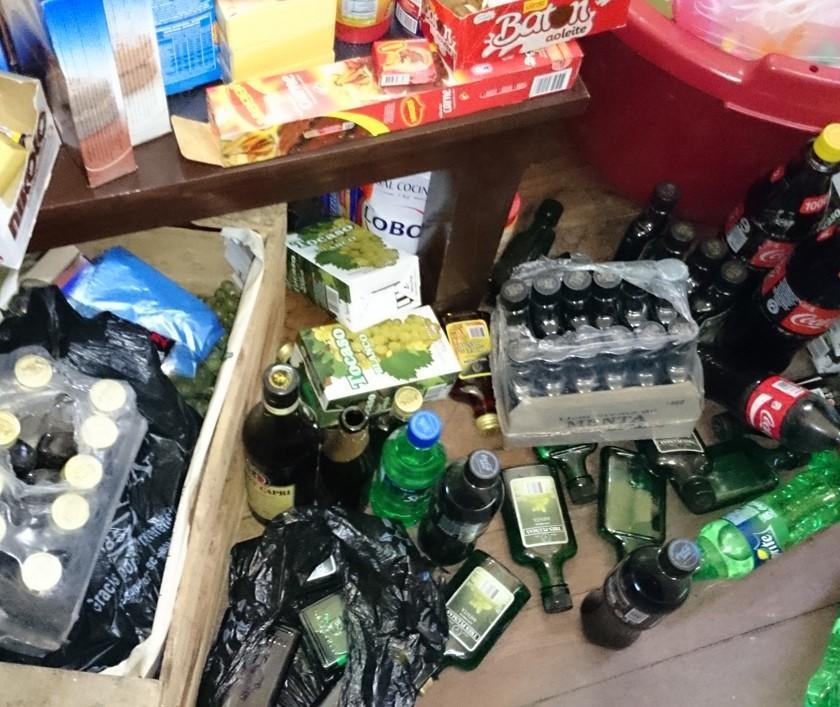 Intendencia incauta bebidas alcohólicas en los operativos