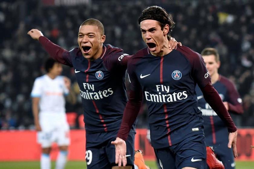 PSG se adueña del clásico francés tras vencer a Olympique Marsella