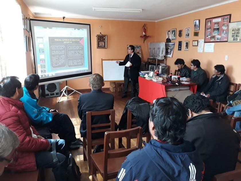 Círculo de Periodistas Deportivos de Potosí aumenta número de socios