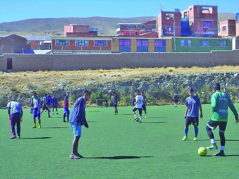 Nacional Potosí está listo para visitar a Bolívar en el torneo de Reservas