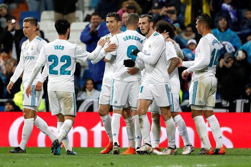 """Real Madrid sufre para ganar a Getafe en el """"Bernabéu"""""""