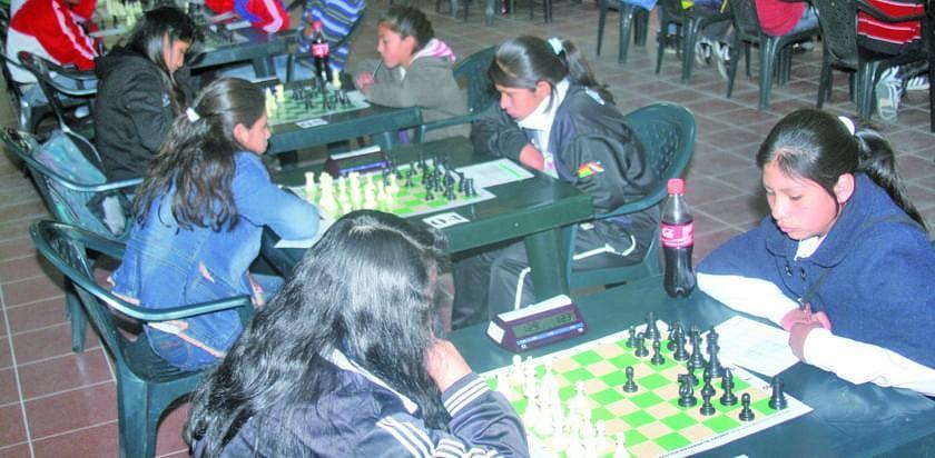 Potosí albergará el torneo nacional de ajedrez femenino