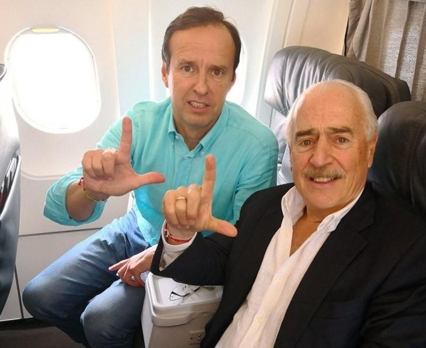 Expulsan y deportan a Jorge Quiroga y Andrés Pastrana
