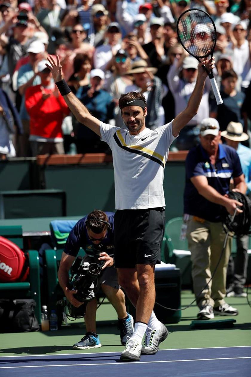 Federer se clasifica a la final de Indian Wells