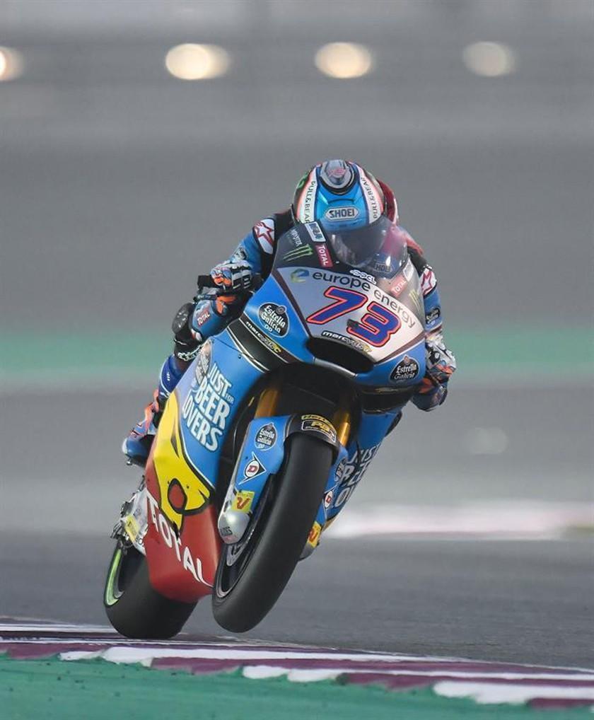 Márquez logra su mejor clasificación en el GP de Catar