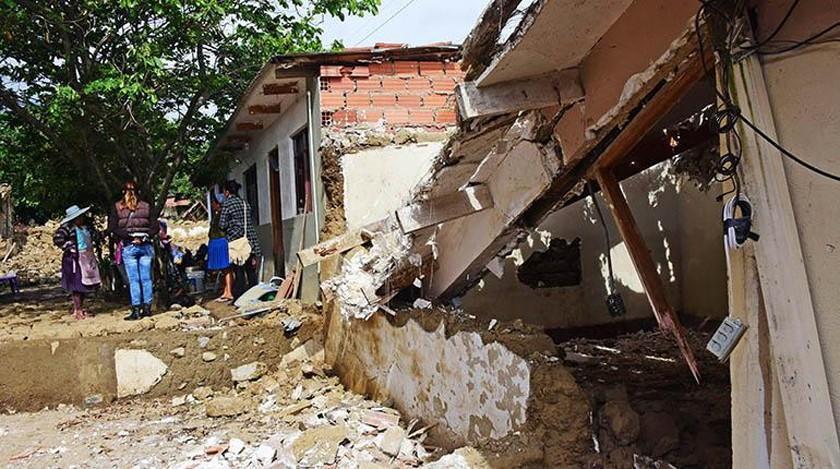 Reportan que la cifra de familias afectadas por las lluvias sube a 17.848