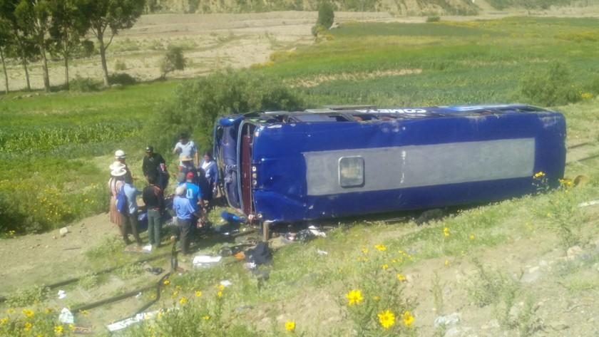 Reportan un accidente en la carretera a Chaquí