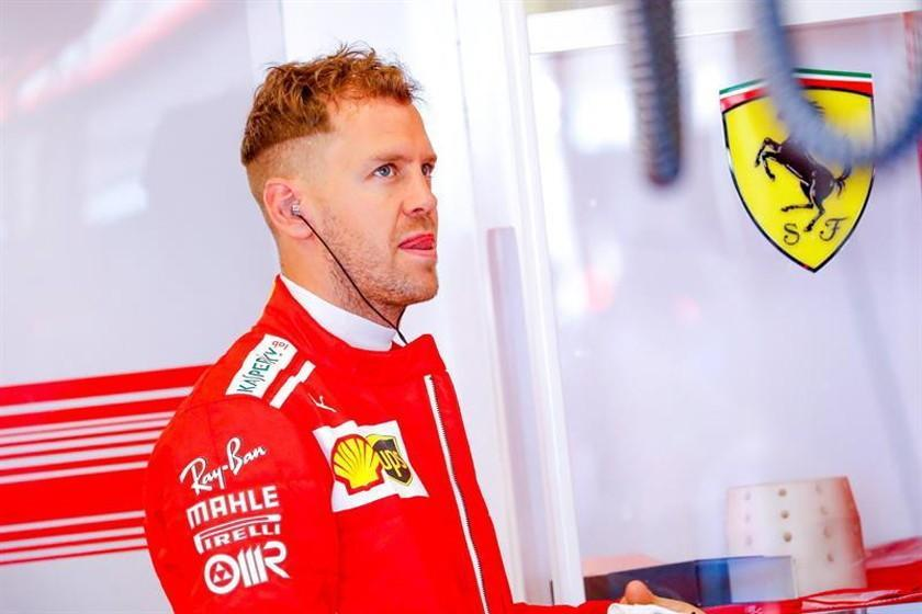 "Vettel: ""mi objetivo es ganar con Ferrari"""