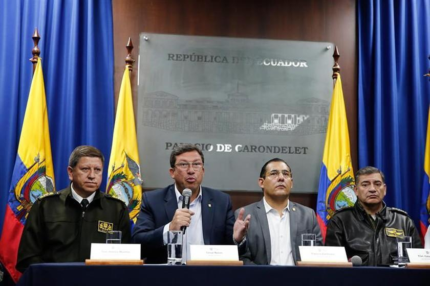 Ecuador confirma secuestro de periodistas cerca de Colombia