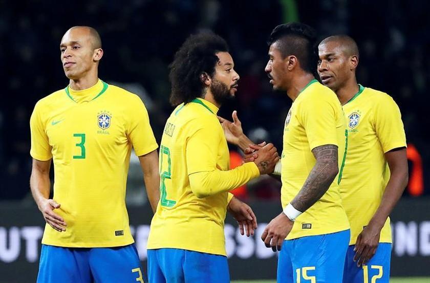 Brasil vence a Alemania con un gol de Gabriel Jesús